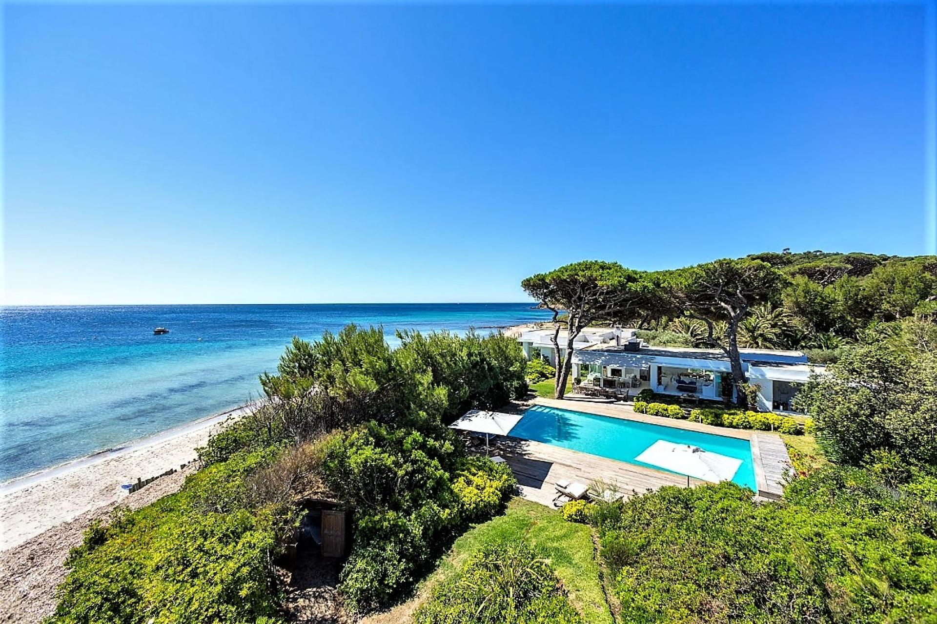 Aerial View From The Beach House Villa South Of France
